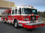 Firetruck Engine Ladder 542